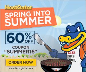 夏日来袭,HostGator鳄鱼全场主机4折促销,活动一周!