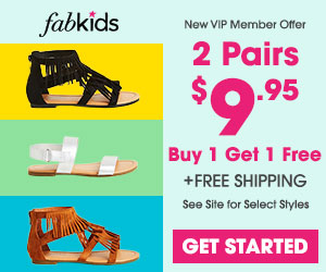 Fabkids 2 for $9.95 Shoes